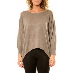 Clothing Women jumpers Vision De Reve Vision de Rêve Pull 12011 Taupe Brown