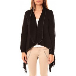 Clothing Women Jackets / Cardigans Tcqb Gilet Andy Noir Black