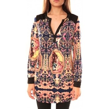 Clothing Women Tunics Dress Code Tunique Sweet Miss K201105 Rose Pink