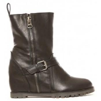 Shoes Women Ankle boots Cassis Côte d'Azur Bottines Aislinn Noir Black