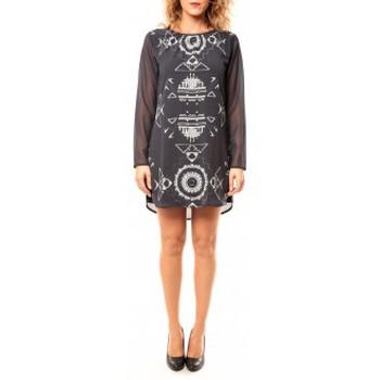 Clothing Women Tunics Coquelicot Tunique CQTW14206 Noir Black