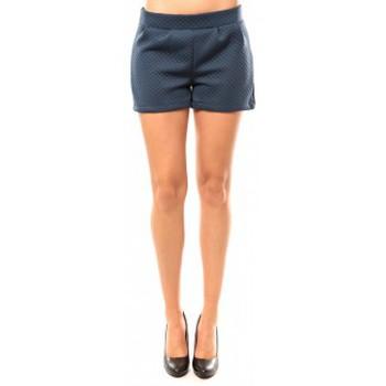 Clothing Women Shorts / Bermudas Coquelicot Short CQTW14617 Bleu Blue