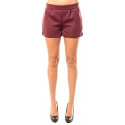 Clothing Women Shorts / Bermudas Coquelicot Short CQTW14617 Bordeaux Red