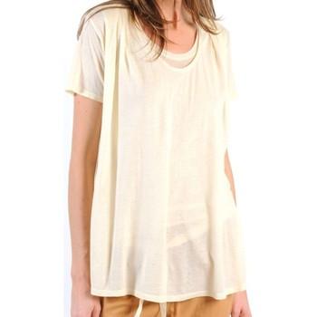 Clothing Women Short-sleeved t-shirts American Vintage TOP BEL20E11 NATUREL Beige