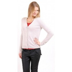 Clothing Women Jackets / Cardigans American Vintage GILET CIN239H10 SABLE Beige