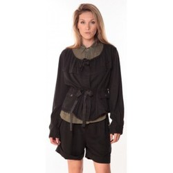 Clothing Women Jackets Sack's Veste Woman Noire 21150088 Black