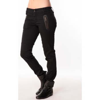 Clothing Women Trousers Sack's Jeans Zip 2111397 Noir Black