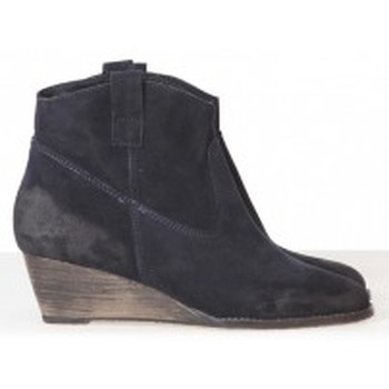 Shoes Women Shoe boots Meline Méliné Boots BZ51 Marine Blue