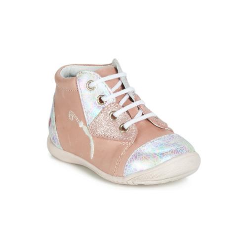Shoes Girl Hi top trainers GBB VERONA Pink