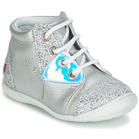 Shoes Girl Hi top trainers GBB VERONA Silver