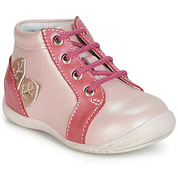 Shoes Girl Hi top trainers GBB FRANCKIE Pink