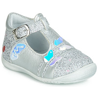 Shoes Girl Flat shoes GBB MERTONE Silver