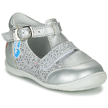 Shoes Girl Flat shoes GBB ZENNIA Silver