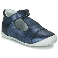 Shoes Girl Flat shoes GBB MERCA Vte / Marine / Kezia