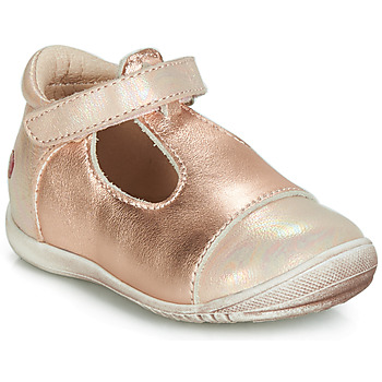 Shoes Girl Flat shoes GBB MERCA Pink / Gold