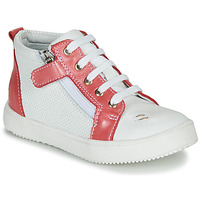 Shoes Girl Hi top trainers GBB MIMOSA Vte / Coral white