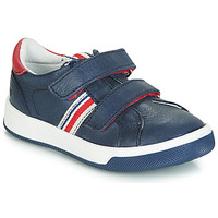 Shoes Boy Low top trainers GBB NEVIS Vte / Marine red