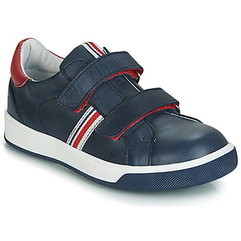 Shoes Boy Low top trainers GBB NEVIS Marine / Red