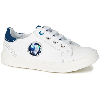 Shoes Boy Low top trainers GBB URSUL Vte / White-blue / Led