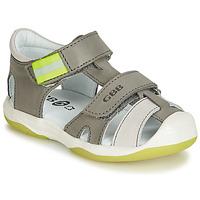 Shoes Boy Sandals GBB BERTO Grey