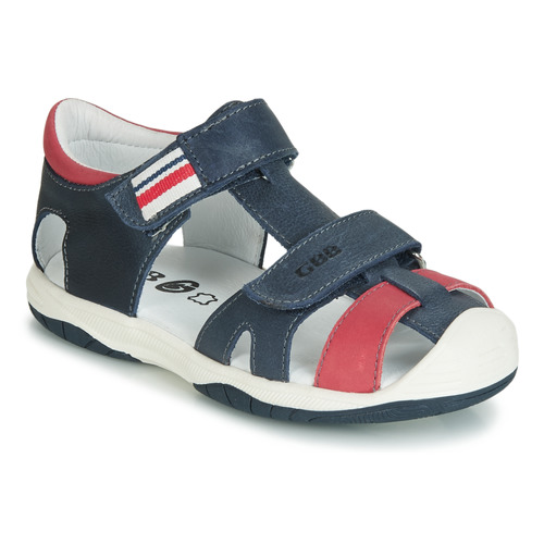 Shoes Boy Sandals GBB BERTO Marine / Red