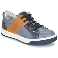 Shoes Boy Low top trainers GBB PADOVA Yellow-tan