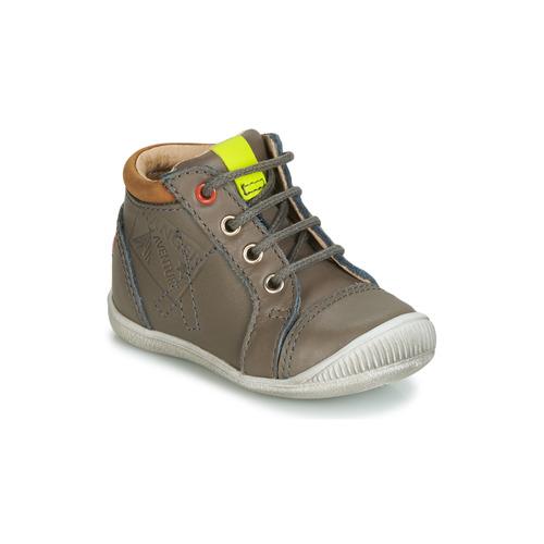 Shoes Boy Hi top trainers GBB TARAVI Grey