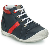Shoes Boy Hi top trainers GBB TARAVI Marine / Red