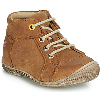 Shoes Boy Hi top trainers GBB PARGA Cognac