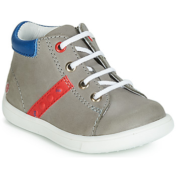 Shoes Boy Hi top trainers GBB FOLLIO Grey / Blue
