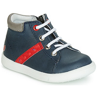 Shoes Boy Hi top trainers GBB FOLLIO Marine / Red