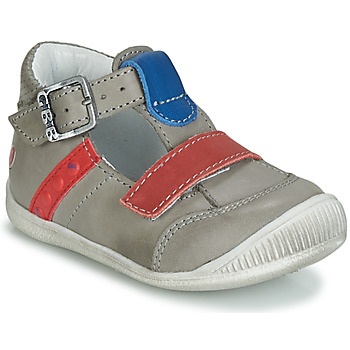 Shoes Boy Sandals GBB BALILO Grey / Blue / Red