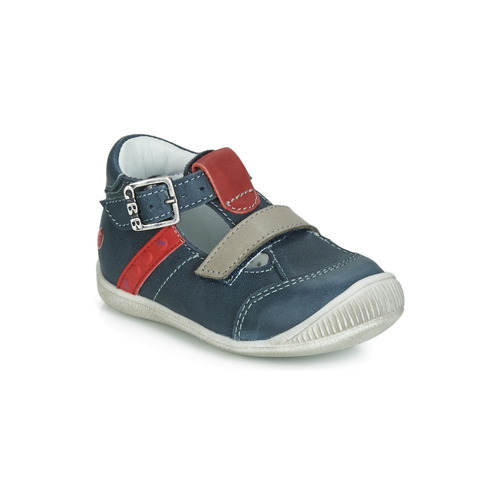 Shoes Boy Sandals GBB BALILO Marine / Red