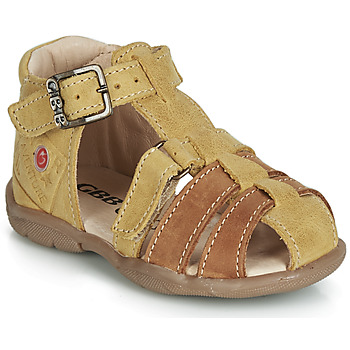 Shoes Boy Sandals GBB PRIGENT Mustard
