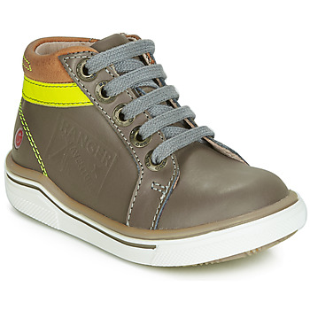 Shoes Boy Hi top trainers GBB QUITO Grey