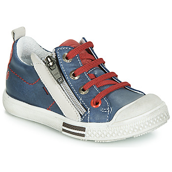 Shoes Boy Low top trainers GBB STELLIO Blue / Red