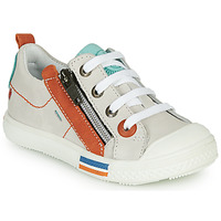 Shoes Boy Low top trainers GBB STELLIO White / Orange