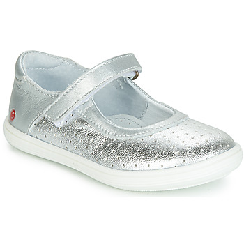 Shoes Girl Flat shoes GBB PLACIDA Silver
