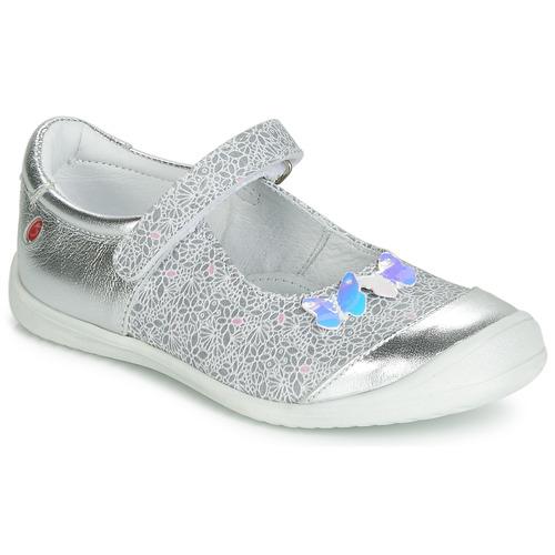 Shoes Girl Flat shoes GBB SACHIKO Silver