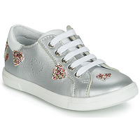 Shoes Girl Low top trainers GBB ASTOLA Silver