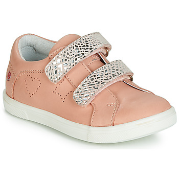 Shoes Girl Low top trainers GBB BALOTA Pink / Silver
