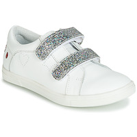 Shoes Girl Low top trainers GBB BALOTA White / Silver