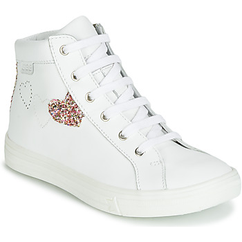 Shoes Girl Hi top trainers GBB MARTA White / Multicoloured