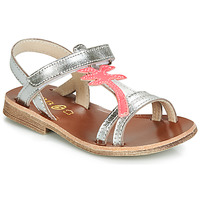 Shoes Girl Sandals GBB SAPELA Silver