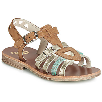 Shoes Girl Sandals GBB FANNI Vtc / Brown gold