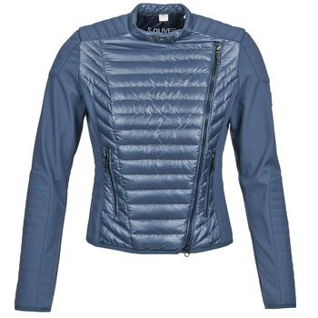 Clothing Women Jackets / Blazers S.Oliver JONES Blue