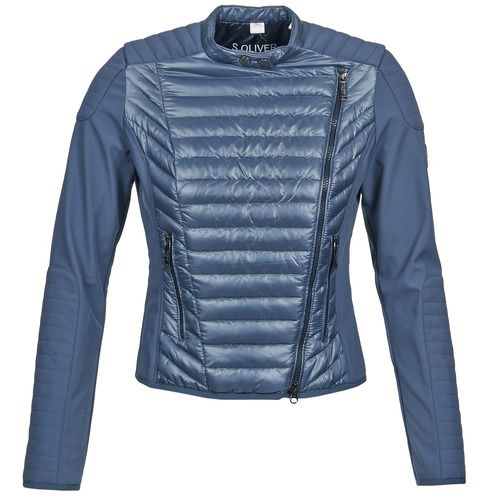 Clothing Women Jackets / Blazers S.Oliver JONES Blue