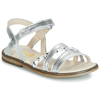 Shoes Girl Sandals GBB VANEZI Silver