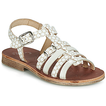 Shoes Girl Sandals GBB BANGKOK Beige / White