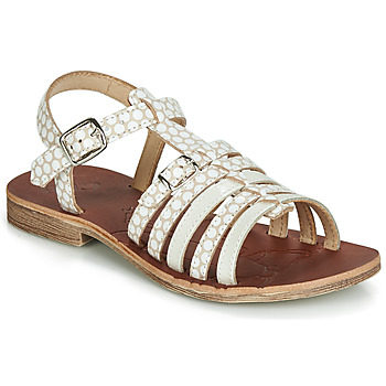Shoes Girl Sandals GBB BANGKOK White / Beige